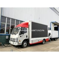 China Outdoor Full Color P4 P5 P6 Mobile Digital Billboard Truck Power Assistant Steering Gear wholesale