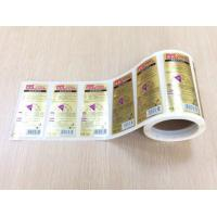 China Hair Shampoo Bottle Full Page Adhesive Labels , Plastic Sticky Address Labels Roll wholesale