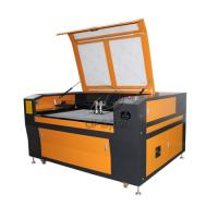 Quality Low Cost 1300*90mm Steel Wood Acrylic Co2 Laser Cutting Machine with Double Heads for sale