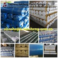 China blue/silver woven poly tarps rolls 1.83*100m, or 2*100m wholesale