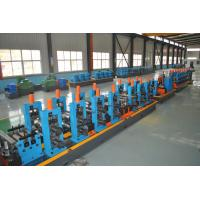 China High Precision SS Tube Mill Machine Milling Saw Blue Colour 90 * 90mm Pipe Size wholesale