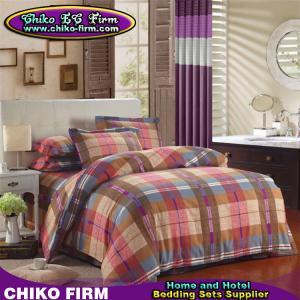 China CKKB006-CKKB010 Thick Reactive Printing Brushed Cotton Brushed Bedding Sets on sale