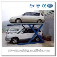 China Simple Scissors Car Parking Lift for 2 Vehicles on sale