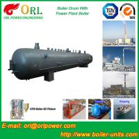 China Solid Fuel Boiler Mud Drum 50 Ton Stainless Steel Pharmaceutical Industry wholesale