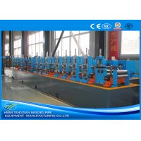 China Carbon Steel Steel Tube Production Line , Round Pipe Manufacturing Machine wholesale
