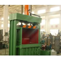 China Reliable PET Bottle Baler Machine Vertical Hydraulic Scrap Used Press Clothes on sale