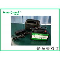 China 12V 18Ah Rechargeable LiFePO4 Golf Trolley Battery Pack With 2 Years Warranty wholesale