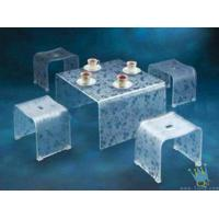 China FU (7) clear acrylic lit furniture wholesale