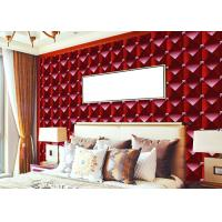 China 3D Effect Modern Removable wallpaper popular For House Wall , square modern design wallpaper wholesale