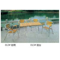 China China Outdoor Aluminum Chair Aluminum Table Furniture wholesale