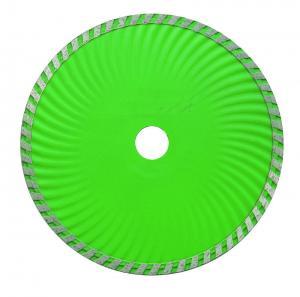 China High Speed 9 Inch Diamond Blade Turbo Wave Circular Saw Hot Pressed Sintered wholesale