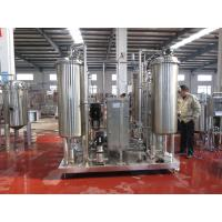 Buy cheap Filter Press Proposal Packing Production Line Aerated Beverage Mixer from wholesalers
