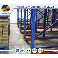 China Professional Drive Through Pallet Racking Heavy Duty With Ce Iso Guarantee wholesale