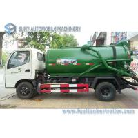 Buy cheap Foton Small 4x2 3m3 To 4m3 Sewage Suction Tanker Truck , Sewage Disposal drainage septic tank from wholesalers