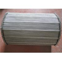 China Spiral Wire Mersh Stainless Steel Conveyor Belt For Drying Ovens wholesale