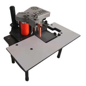 China Portable Edge Banding Machine For Furniture Plastic Trim Pvc Strip Glue Table wholesale