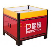 China Movable Metal Promotion Display Counter Store Supermarket Accessories L1000 * W1000 * H850 mm wholesale