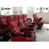 China Genuine Leather 5D Movie Theater Electronic System Chair Metal Flat Screen wholesale