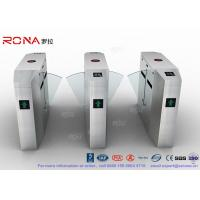 Quality Anti - Reverse Retractable Turnstile Barrier Gate RS232 / RS485 550mm Passage for sale