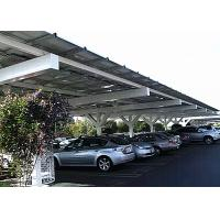 China Car Shed PV Carport Solar Systems Solar Panel Racking Systems Renewable Energy on sale
