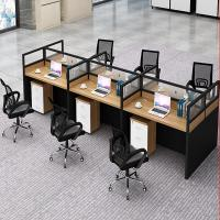 China Modern 6 Seat Cubicle Work Station Office Furniture Partitions Environmentally - Friendly wholesale
