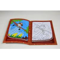 China Children Softcover Book Printing Saddle Stitching Binding With Die Cutting wholesale