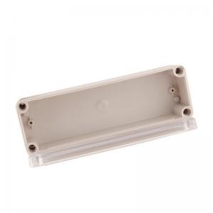 China Weatherproof  IP65 250*80*70mm Clear Plastic Enclosure Box wholesale