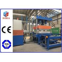 China Four Cavities Rubber Vulcanizing Press Machine / Rubber Tile Making Machine wholesale