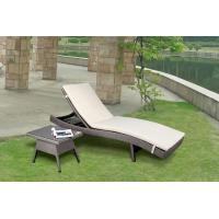 China Outdoor adjustable chaise lounge chair-16067 wholesale