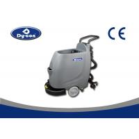 China Hand Push Floor Scrubber Dryer Machine Semi Automatic PLC Control Mode wholesale