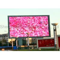 Buy cheap IP65 Advertising SMD LED Display P10 , 1R1G1B HD led video screen CE product