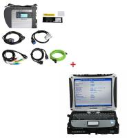 Quality Multi-language WIFI MB Star SD C4 Mercedes Benz Diagnostic Tool Plus Panasonic CF19 i5 CPU 4G memory for sale
