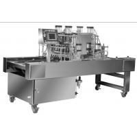 Buy cheap PLC Controlled Cookie Dough Depositor , Industrial Dough Depositor Machine from wholesalers