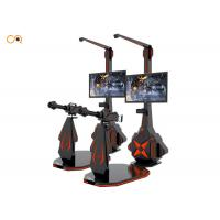 China Virtual Reality Shooting Simulator / 9D VR Galting Shooting Game Machine wholesale