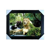 Quality PS Frame Stock  3D PET Lenticular Printing Services Wall Decorative Picture for sale