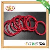 Buy cheap Red Acid Resistance EPDM Customized O Rings Ageing Resistance For Chemical product