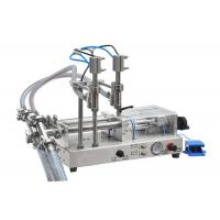 China Essential Oil Filling Machine / Bottling Machine 50-5000ml Bottles Without Drop wholesale