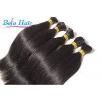 China Indian Silk Straight 100% Human Hair Bulk 22 or 24 inch hair extensions Bulks wholesale