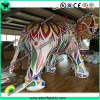 Large Colorful Inflatable Elephant / Outdoor Advertising Balloon For Big Event
