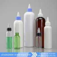 China 30ml,45ml,60ml,120ml,150ml,250ml,300ml,500ml cosmo round plastic bottle with twist off cap wholesale