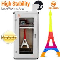 Buy cheap 1.75 mm TPU / ABS / Nylon / PLA Desktop 3D Printer FDM OEM high resolution from wholesalers
