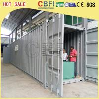 China 5 Ton Per Day Containerized Block Ice Machine, Ice Block Making Business  wholesale