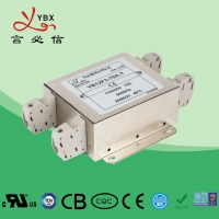 China 30A AC Single Phase Electrical Noise Filter / EMC Mains Power Noise Filter wholesale