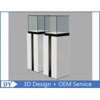 China OEM Fashion Practical Jewelry Display Cases For Trade Shows Semi - gloss White wholesale