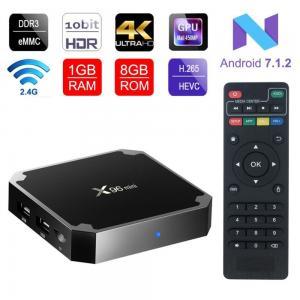 China 4K Smart TV Box  X96 Mini Android 7.1 OS , Android Set Top Box 2GB 16GB Amlogic S905W Quad Core wholesale