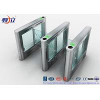 China RFID Card Reader Pedestrian Barrier Gate Access Control System DC24V Brush Motor wholesale