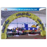 China Pvc Tarpaulin Inflatable Tire Arch Promotion For Tyre Entrance Arch wholesale