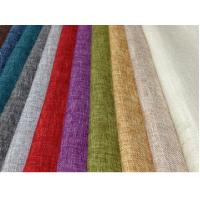 China LINEN COTTON FABRIC INTERWEAVE PLAIN DYED WITH SPANDEX  CWT# 5648 wholesale