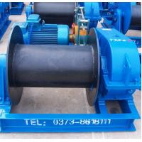 China Wire Rope Heavy Duty Electric Winch For Dragging Or Lifting Heavy Materials wholesale
