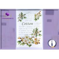 China Personalized Cotton / Greenleaf Scented Envelope Sachet Lasts 4-6 Months on sale